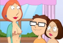 Lois and Meg have sex with Steve