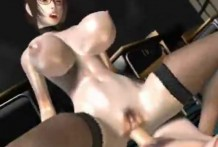 Hardcore sex with busty music teacher