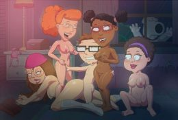 Steve Smith Fucks Meg Griffin during an Orgy